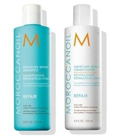 Trockene Haare mit Shampoo pflegen