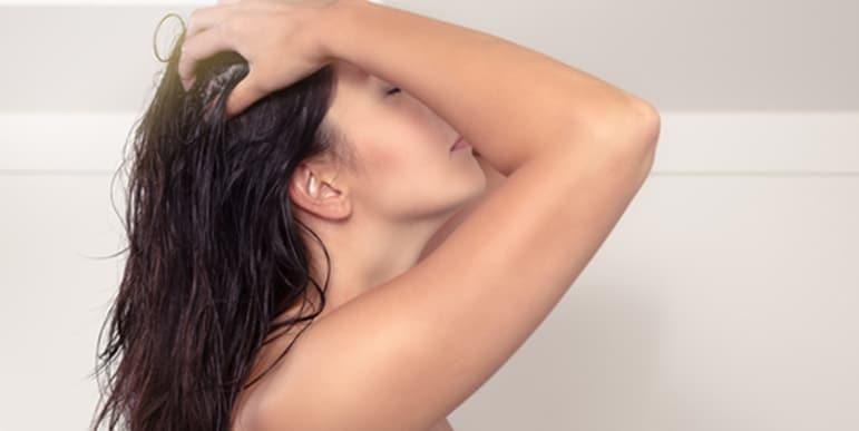 Haaröl richtig anwenden
